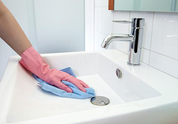 artigo sobre como desinfetar o seu banheiro