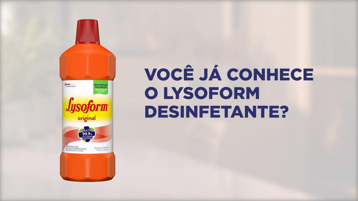 Lysoform Desinfetante Poster